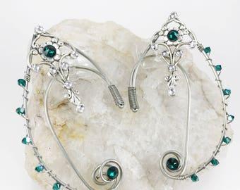 Elven Ear Cuffs - Elven Ears - Elf Ear Cuffs - Elf Ears - Fairy Ears - Fairy Ear Cuffs - Celtic Jewelry - Fairy Costume - Elf Costume