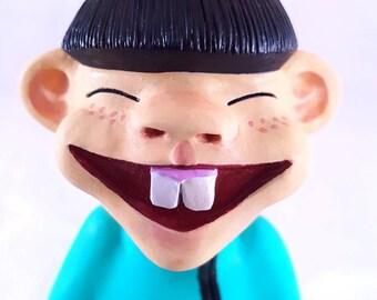Figurine petit bonhomme chinois cartoon