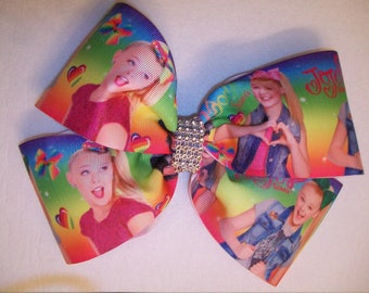 Jojo Siwa Hair Bow - large double bow with hair clip