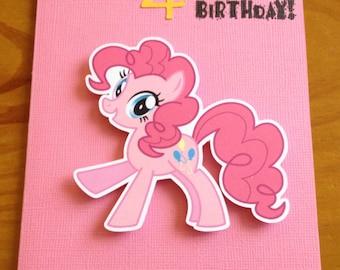 Little Pony Birthday card