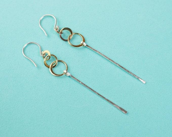 Triple Orbit Earrings