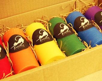 Pride (rainbow) wax play set