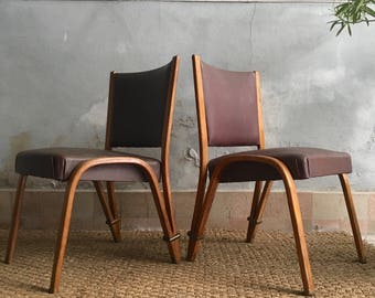 Steiner vintage - chairs bow wood chairs