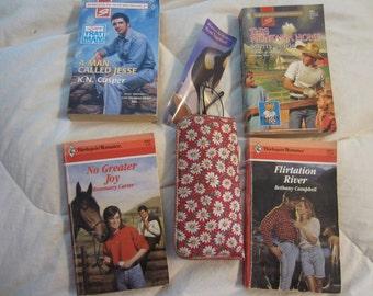 Four Vintage Harlequin Romance Novels -- Love On the Range!  Set # 9  SALE 10% Off