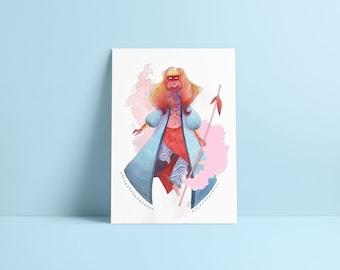 Witch - Fine Art Print ~ Lucile Farroni