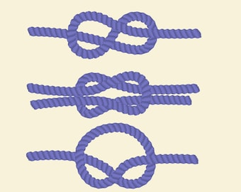 Nautic knots, sea pirate nautical rope knots  fill stich design / INSTANT Welcome banner simply embroidery fill stitch embroidery designs