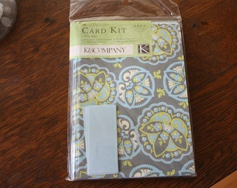 Amy Butler K & Co. Card Kit Lotus Star Paisley