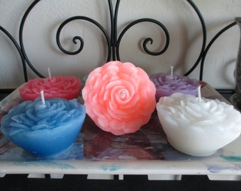 Flower Floating Candle
