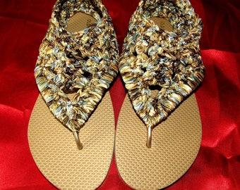 Gladiator Anklet Flip Flops