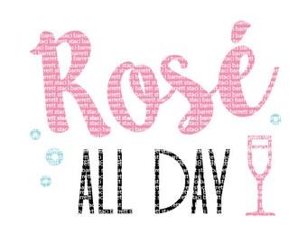 Rose All Day SVG