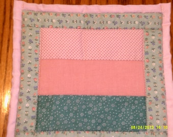 patchwork potholder/ hot pad