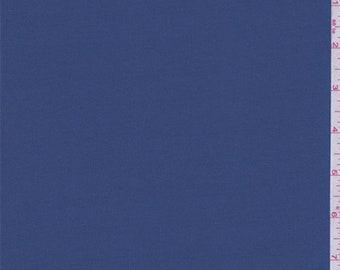 Blue Denim Matte Jersey, Fabric By The Yard