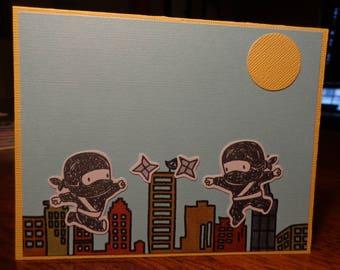Ninjas with stars