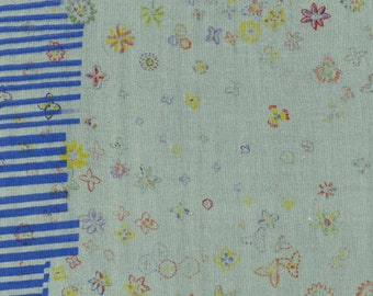 Nani IRO Field STAR (2013) Oops ~ Kokka Fabric ~ Japanese Fabric ~ Naomi Ito ~ Double Gauze Cotton Fabric ~ Quilt Fabric ~ Apparel Fabric