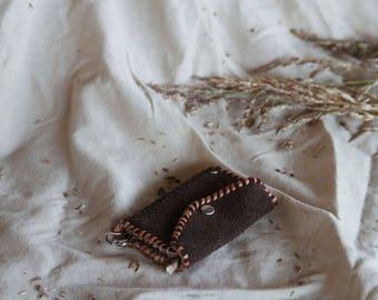 Vintage Leather Coin Bag