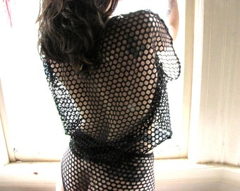 Gothic Clothing - see through lingerie - sheer dress - sheer camisole - mesh top - sheer - see through lingerie - mesh - lingerie- Recherche