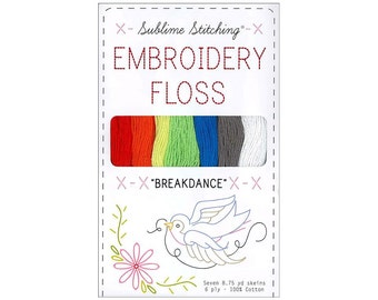 Embroidery Floss Thread Sublime Stitching Breakdance Cross Stitch Needlework Embellishment