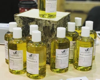 Gifts for her, The Best Natural Body Oil, Vanilla Body Oil, After Shower Oil, Bath Oil, Moisturizing Body Oil, Organic Sexy Body Oil