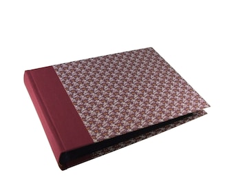 burgundy Photo Album - dark ruby - garnet