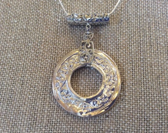 Precious Metal Clay Pendant