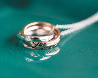 Love' Rings Necklace