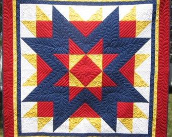 A Soldier's Star Quilt Pattern