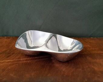 Vintage Nambe Serving Bowl