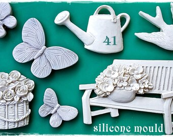 Garden Elements 41 ...Silicone Mould