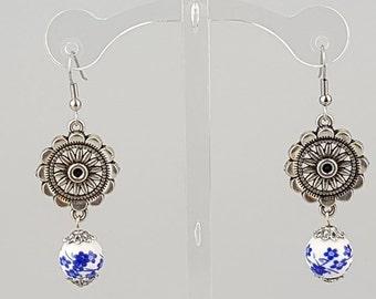 Delicate in Blue Earrings
