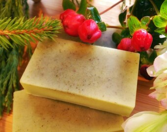 Cedar and Clary Sage lotion bar