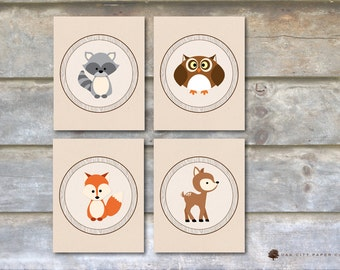 Woodland Animal Nursery Art, Woodland Baby Shower Decorations, Woodland Animal Prints, Woodland Animal Pictures, Forest Animal, Printable