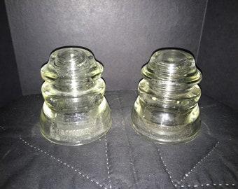 Powerline glass insulators