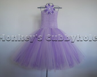 Purple Princess Tutu Dress