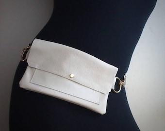 Fanny Pack, Leather Fanny Pack, Leather Hip Bag, Belt Bag, Hip Bag, Leather Belt Bag, Waist Bag, Festival Fanny Pack, Bum Bag, Travel Bag