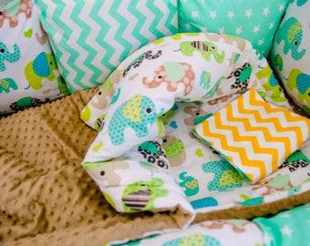 Baby bedding baby boy bedding, baby blanket, crib bedding, quilts, crib bedding, nursery bedding, baby bumper, crib set