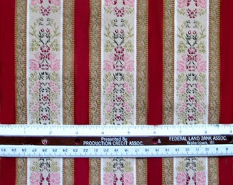 Beautiful Upholstery Striped Fabric  82 x 57 inches