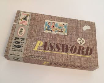 Password Board Game