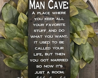 Man Cave Signs Personalized Uk : Man cave etsy