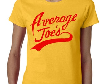 Average Joes T-Shirt From the Movie Dodgeball
