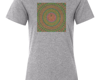 Jhene Aiko Trip Women's Relaxed Fit Tee T-Shirt New-Athletic Heather