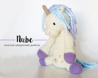 Amigurumi Unicorn : Amigurumi unicorn etsy studio