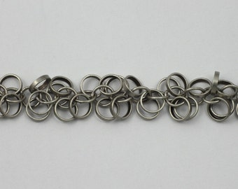 Antique Silver, 5mm Dangle Links Chain #CC171