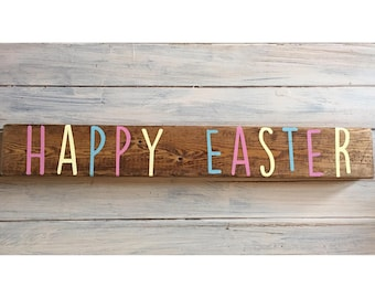 Easter Wood Sign