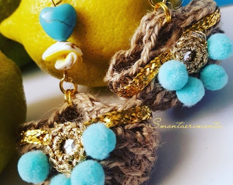 Lemons Perfume Earrings