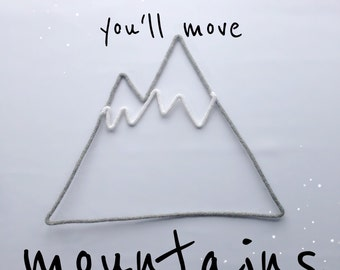 Mountains  - woolen word | Wall decoration