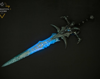 Frostmourne, Lich King Sword, inspired by Warcraft, cosplay props