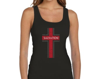 Salvation Christian Fashion Gifts Women Tank Top