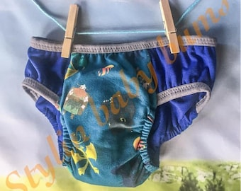 Size LARGE how to train your dragon boys training underwear - cloth pull ups - trainers- special needs underwear FREE SHIPPING