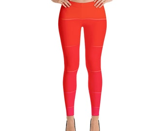 Variety Red All-Over Print Leggings