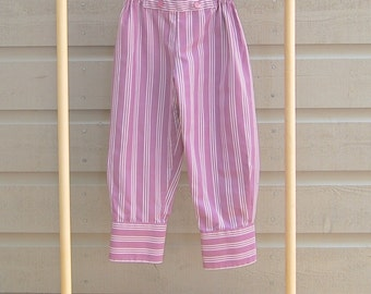 12 mths. Baby Pants , Upcycled Toddler Pants, Shants, Shirt Refashion, Purple Baby Pants, Shirt Sleeve Pants, Baby Shower Gift, Babies